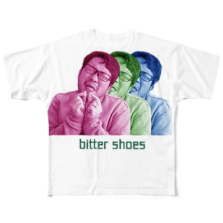 bitter shoes フルグラフィックTシャツ