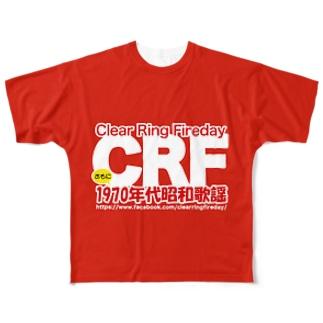 70年代 昭和歌謡 CRF フルグラフィックTシャツ