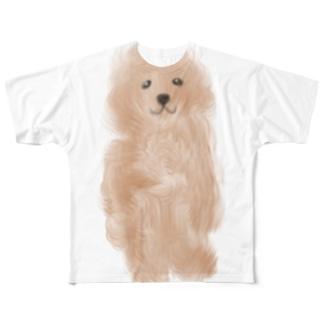 トイプーちゃん Full graphic T-shirts