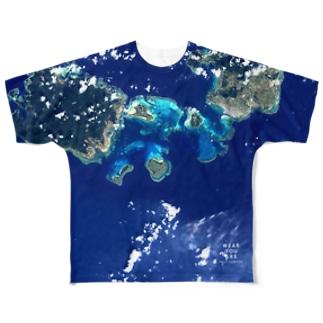 沖縄県 八重山郡 Tシャツ 両面 Full graphic T-shirts