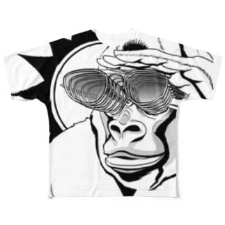 ゴリグラス Full graphic T-shirts