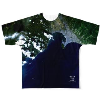 北海道 北斗市 Tシャツ 両面 Full graphic T-shirts