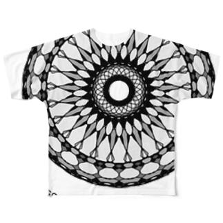日蝕 Full graphic T-shirts