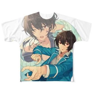 リッツのTシャツが欲しいだけ Full graphic T-shirts