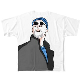 殺し屋 Full graphic T-shirts