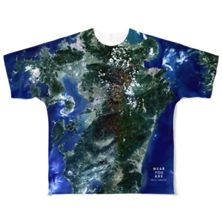 WEAR YOU AREの熊本県 上益城郡 Tシャツ 片面 Full graphic T-shirts