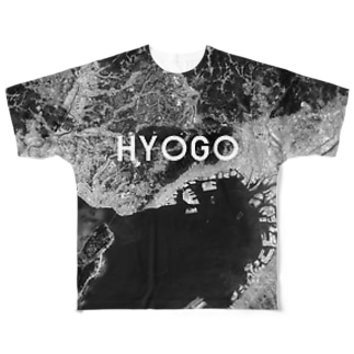 兵庫県 神戸市 Tシャツ 両面 Full graphic T-shirts