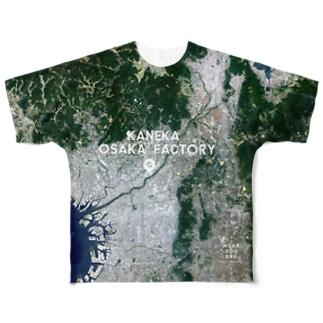 大阪府 摂津市 Tシャツ 片面 Full graphic T-shirts
