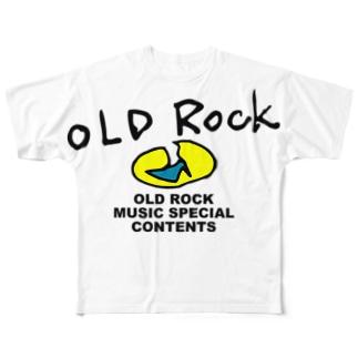 グッドオールドロックショー Full graphic T-shirts