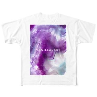 「フローライト」 Full graphic T-shirts