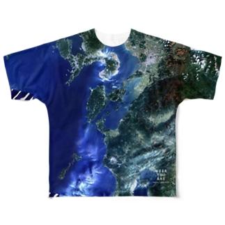 熊本県 天草市 Tシャツ 片面 Full graphic T-shirts