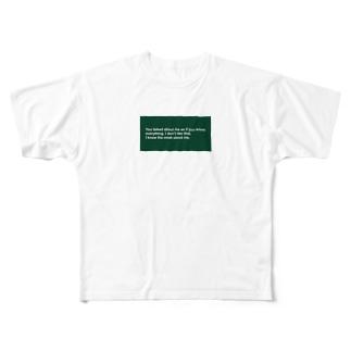 no.2 フルグラフィックTシャツ