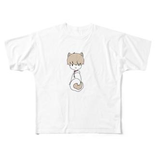 しばいぬ Full graphic T-shirts