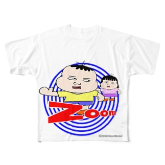 パゲオ tPGO_04 Full graphic T-shirts