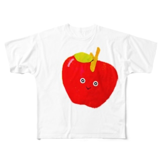 りんご Full graphic T-shirts