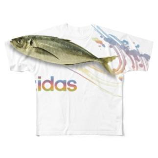 azidas Full graphic T-shirts