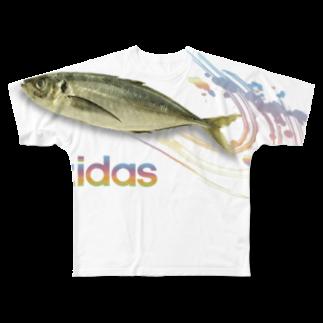 honey-designのazidas Full graphic T-shirts