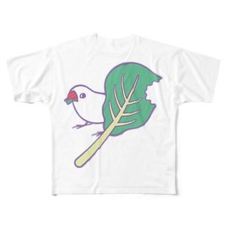 小松菜ちゃん フルグラフィックTシャツ