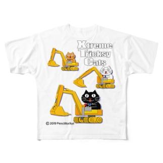 ネコ兄弟 tXTC_29 Full graphic T-shirts