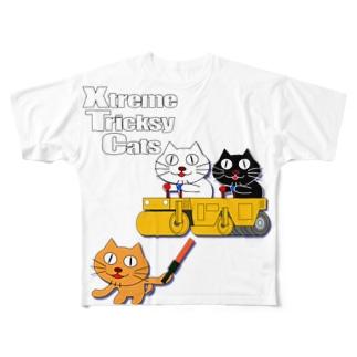 ネコ兄弟 tXTC_36 Full graphic T-shirts