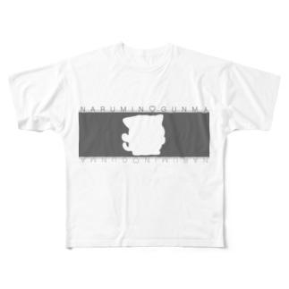 シルエットシリーズ(*^^*) Full graphic T-shirts