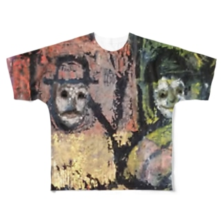 banza-i フルグラフィックTシャツ