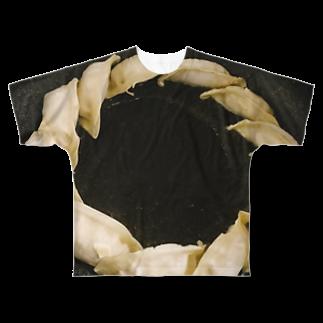 福人ずけのギョウザ Full graphic T-shirts
