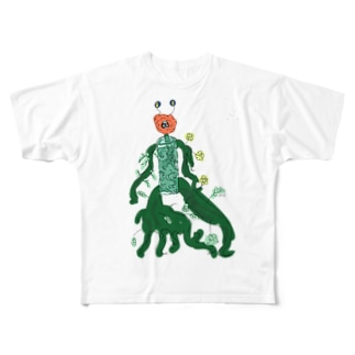 吉永くん Full graphic T-shirts