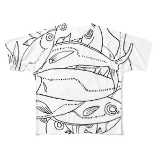 AJI Full graphic T-shirts