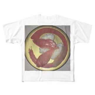 SUSHIDON Full graphic T-shirts