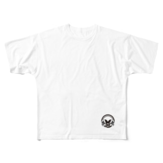 logo +¥500 フルグラフィックTシャツ