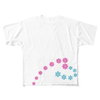 デイジーハート Full graphic T-shirts
