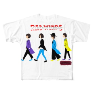 r@dwi@ps Full graphic T-shirts