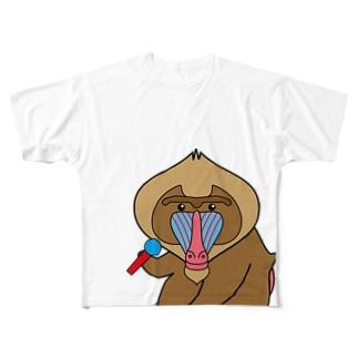 のどじまんどりる フルグラフィックTシャツ