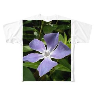 空と呼応して Full graphic T-shirts