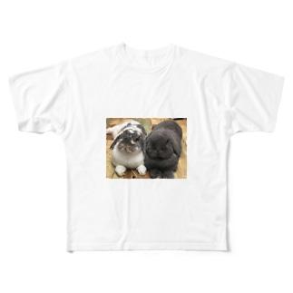 サスケとゴマ フルグラフィックTシャツ