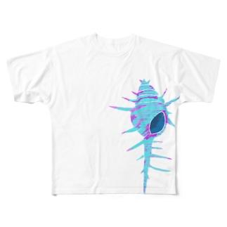 貝殻の記憶 Full graphic T-shirts