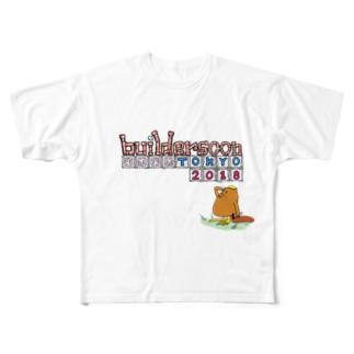 非公式 builderscon tokyo 2018  フルグラフィックTシャツ