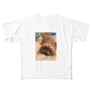 いつでもどこでも藤子 Full graphic T-shirts