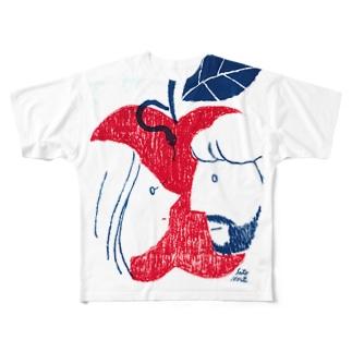 EDEN フルグラフィックTシャツ