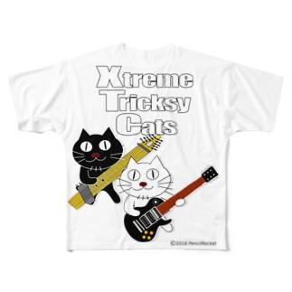 ネコ兄弟 tXTC_51 Full graphic T-shirts