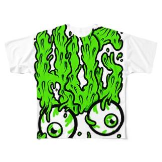HUG, Slime, Melt... フルグラフィックTシャツ