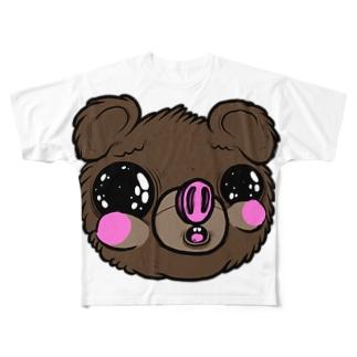 I am Fualey フルグラフィックTシャツ