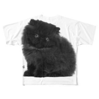 Pretty Little Kitty Cat Full graphic T-shirts