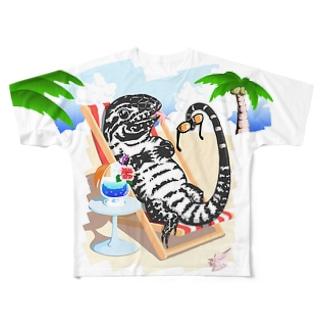 Diamond Vacation フルグラフィックTシャツ