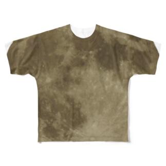 ありそでなさそな満月 フルグラフィックTシャツ
