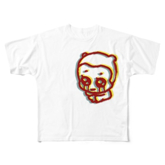 crying anonchan T-shirt Full graphic T-shirts
