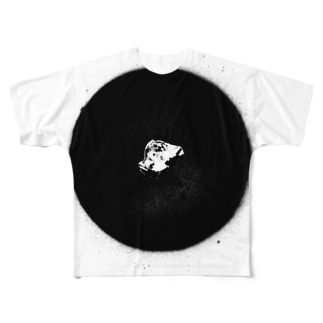銀歯 フルグラフィックTシャツ