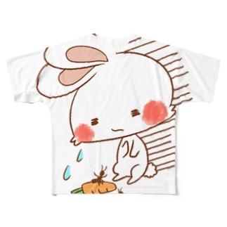 うさぎさん フルグラフィックTシャツ