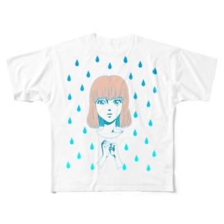 クソみてえな失恋 Full graphic T-shirts